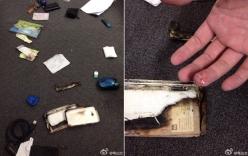Điện thoại phát nổ khi đang sạc trên bàn