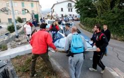 Động đất rung chuyển Italy, nửa thị trấn bị phá hủy