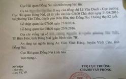 Cục Hải quan gửi văn bản thông báo việc mẹ Cục trưởng từ trần
