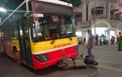 Xe buýt đâm chết 1 phụ nữ giữa trung tâm Hà Nội