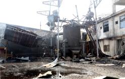 Nổ lò than hoá khí tại nhà máy gạch, 2 người thiệt mạng