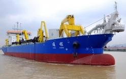 TQ nhận tàu nạo vét siêu lớn, tăng cường hoạt động phi pháp tại Biển Đông