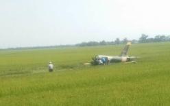 Máy bay quân sự rơi ở Phú Yên, một phi công tử vong (cập nhật)