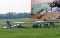 Vụ rơi máy bay quân sự: Người dân đi đường kể lại giây phút thoát chết