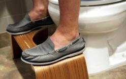 Gia đình khởi nghiệp thành triệu phú nhờ bán ghế kê chân trong toilet
