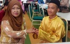 Trai tân 18 tuổi gây bất ngờ khi cưới bà mẹ đơn thân có 5 con