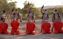 IS tung video 5 bé trai hành quyết tù nhân bằng súng ngắn