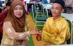 Đám cưới gây xôn xao giữa trai tân 18 tuổi và bà mẹ 5 con