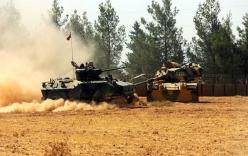 Video: Quân Thổ Nhĩ Kỳ lãnh thiệt hại đầu tiên ở Syria