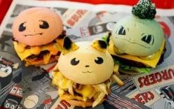 Cửa hàng bánh kẹp hình Pokemon tạo nên cơn sốt thu hút hàng trăm khách