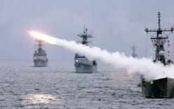 Hạm đội tàu Nga tới Biển Đông tập trận với Trung Quốc