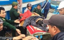 Quảng Nam: Ngư dân tử vong trên biển được đưa vào bờ
