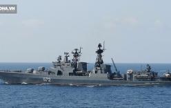 Nga đưa chiến hạm chống ngấm đến Biển Đông tập trận