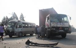 Tai nạn giao thông nghiêm trọng ở Bình Dương, 6 người bị thương