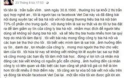 Bị phạt 12,5 triệu đồng vì nói xấu công ty bia Hà Nội trên Facebook
