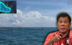 Tổng thống Philippines: Phát hiện nhiều sà lan Trung Quốc ở Scarborough