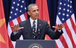 Obama: Sẽ cho Trung Quốc thấy hậu quả nếu tiếp tục gây hấn ở Biển Đông
