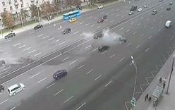 Video: Siêu xe của ông Putin gặp tai nạn, tài xế chết tại chỗ