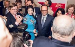 Lý Nhã Kỳ vinh dự được tiếp kiến Tổng thống Pháp Francois Hollande