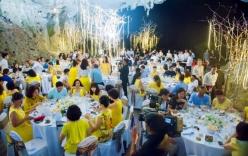 Yêu cầu chấm dứt bày tiệc trong hang động Hạ Long