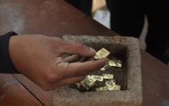 Phát hiện hộp vàng 22 miếng niên đại nghìn năm tuổi trong lúc đào giếng