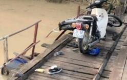Tai nạn trên cầu phao, hai người rơi xuống sông chết