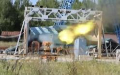 Lộ video thử nghiệm súng máy trên chiến đấu cơ T-50 Nga