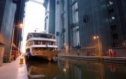 Thang máy có thể nâng tàu nặng tới 15.500 tấn ở Trung Quốc