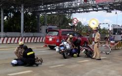 Hà Nội: CSGT rút súng truy đuổi tên cướp trên quốc lộ
