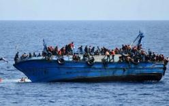 Tàu chở 600 người di cư chìm tại khu vực ngoài khơi Ai Cập