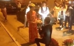 Video: Tắc đường, cặp đôi tổ chức đám cưới ở đường hầm để kịp giờ đẹp