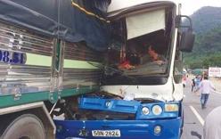 Vụ xe tải cứu xe mất phanh khi đổ đèo Bảo Lộc: Xe khách bị phạt 10,5 triệu