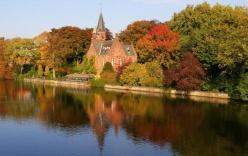 Vẻ đẹp nao lòng của Đại học Oxford mùa thu
