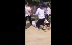 Nữ sinh lớp 8 đánh nhau hội đồng vì ghen tuông ở Hà Nội