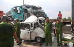 Tai nạn giao thông trên cầu Phú Mỹ, tài xế chết trên vô lăng