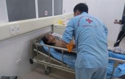 Nổ mìn tại công trường, 14 người bị thương