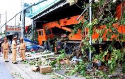 Tin tai nạn giao thông mới nhất ngày 30/9: Xe cẩu mất lái gây tai nạn liên hoàn