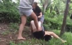 Cô gái bị lột đồ, đánh hội đồng trên núi: Xác định người tung clip