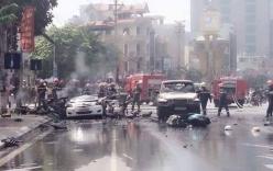Vụ taxi nổ tung, 2 người chết: Thư tuyệt mệnh hành khách viết gì?