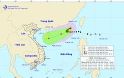 Bão số 6- bão Aere giật cấp 11 diễn biến bất thường trên Biển Đông