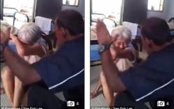 Clip người đàn ông nhẫn tâm đánh đập cụ già gây phẫn nộ