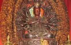 Video: Tìm thấy tượng Phật nghìn tay nghìn mắt khổng lồ bên quốc lộ