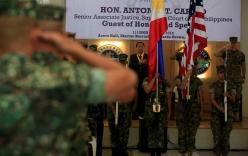 Tòa án tối cao Philippines hối thúc nối lại tuần tra Biển Đông với Mỹ