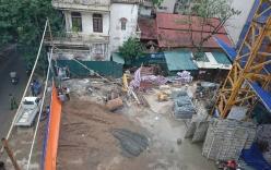 Hà Nội: Sập giàn giáo 2 người chết, 4 người bị thương