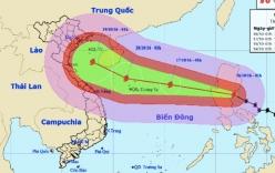 Bão Sarika hoành hành trên biển, mạnh ngang siêu bão Haiyan