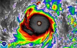 Siêu bão Haima giật cấp 17 đang tiến vào Biển Đông