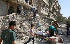 Nga – Syria ngừng không kích Aleppo
