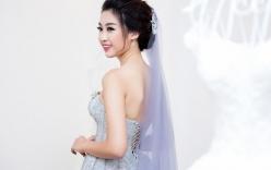 Hoa hậu Mỹ Linh đẹp lộng lẫy trong bộ váy cưới