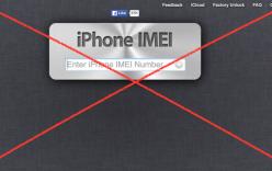 Cảnh báo iPhone bị khóa iCloud vì check imei qua web