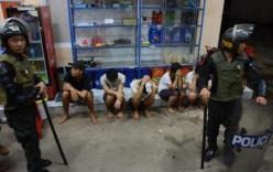 Gần 600 người cai nghiện dùng cuốc phá trại trốn ra ngoài